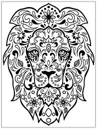 free printable flower mandala coloring pages adults pdf animal