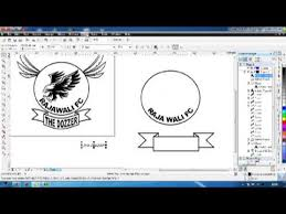 membuat logo kelas dengan photoshop buat logo corel draw x5 youtube