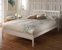 4ft bed ananke small double 4ft white bed