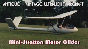 Gliders For Sale Mini Stratton Mini Stratton D7 Ultralight Motor Glider Youtube