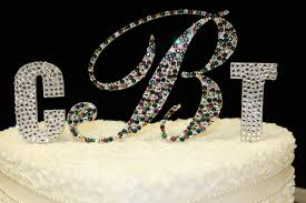 bling cake toppers c brower co brower power the top cake toppers