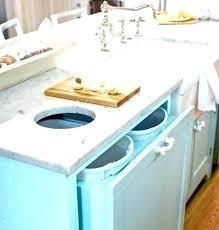 poubelle cuisine encastrable dans plan de travail poubelle de cuisine encastrable ikea meuble sous evier meuble