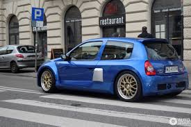 renault clio sport v6 renault clio v6 phase ii 17 march 2017 autogespot