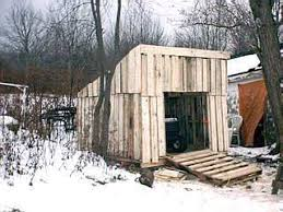 How To Build A Tool Shed Ramp by Building A Shed From Recycled Wooden Pallets Building With Pallets