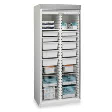 medical supply storage cabinets 69 with medical supply storage