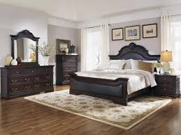 upholstered bedroom sets jody bedroom set w black upholstered bed