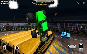 minecraft semi truck monster truck destruction android apps on google play