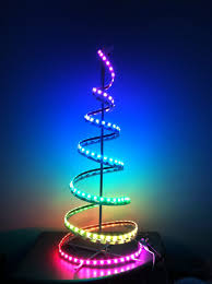 pretty dual led lights color colored trees mini chritsmas