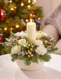 candle arrangements pin by hansen on christmas decor carnation