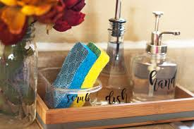 The Organized Kitchen Making Cleanup Fast With An Organized Kitchen Sink U0026 Diy Soap