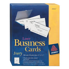 Free Avery Business Card Template by Avery Business Card Stock Memorize It Flashcards 40 For Windows