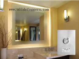 non steam bathroom mirror