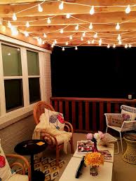 Backyard String Lighting Ideas 1000 Ideas About Porch String Lights On Pinterest Metal