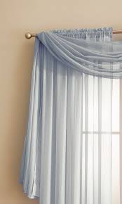 Light Silver Curtains Warm Home Designs Silver Window Scarf Valances Sheer Silver