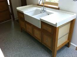 Free Standing Sink Kitchen Astonishing Stand Alone Kitchen Sink Free Standing Ikea At