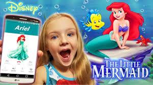 calling ariel mermaid omg answers