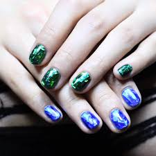 glass nail art popsugar beauty
