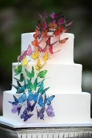 brookie must have wedding cake topper edible butterfly wedding