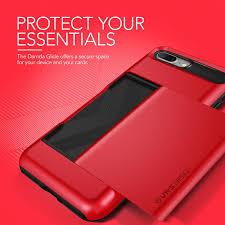 apple red vrs design damda glide iphone 8 plus 7 plus case apple red