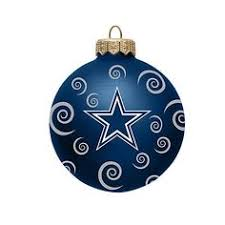 dallas cowboys tree ornaments show your team spirit