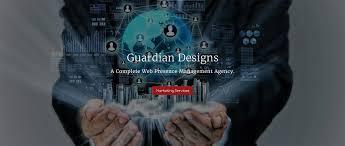 guardian designs a complete web presence management agency