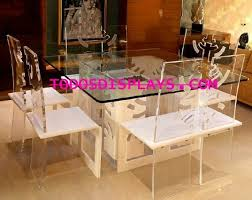 Lucite Dining Chair China Elegan Hotel Acrylic Dining Table Chair Set China Acrylic
