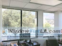 heat reducing window film in pasadena office window tint los angeles