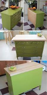 repurposed kitchen island ideas make sure the dresser is around 32 to 34 inches high repurpose
