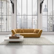 a delightful contemporary apartment with a wonderful designer sofa