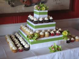 cupcake and cake stand cupcake wedding cake stand