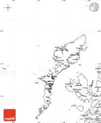 Blank Map Of Western Europe by Blank Simple Map Of Western Isles