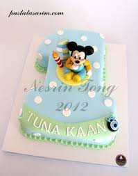 baby mickey 1st birthday baby mickey mouse 1st birthday cake cake by nesrin tong flickr