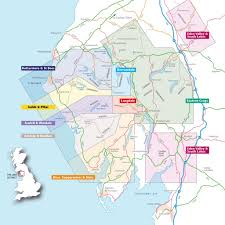 Lake District England Map by Publications U2013 Frcc