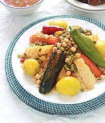 cuisiner sans viande couscous algérien aux légumes avec ou sans viande cuisine culinaire