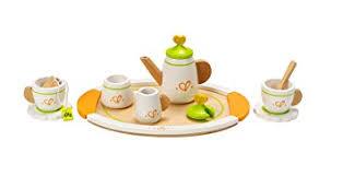 jeux de cuisine service hape e3124 jeu d imitation en bois cuisine service à thé