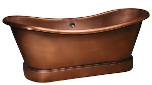 Copper Pedestal Barclay Copper Tubs Continued Freestanding Soaking Tubs