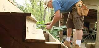 How To Build A Garden Shed Step By Step by How To Build Wood Steps On A Deck Today U0027s Homeowner