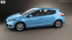 renault megane 2013 renault megane 5 door hatchback 2013 by 3d model store humster3d
