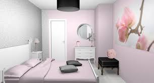 chambre grise et poudré chambre fushia et gris ado poudre pale clair decoration deco