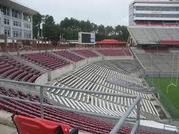 carter finley stadium section 120 rateyourseats com