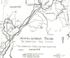 Appalachian Trail Massachusetts Map by Cold Beer