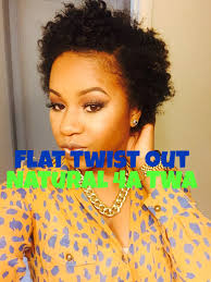 be stunning with natural twist hairstyles for short hair flat twist out on short 4a natural hair tella glam youtube