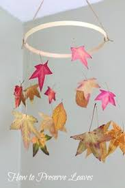 watercolor paper leaf branch mobile branch mobile watercolor