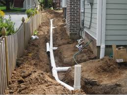 drainage truesdale landscaping