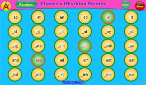 abc phonics rhyming words free android apps on google play