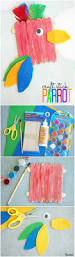 paper plate parrot craft images craft decoration ideas