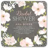 wedding shower invitations beautiful bouquet 5x5 stationery bridal shower invitations