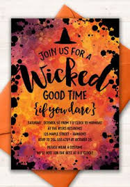 Halloween Costume Party Invitations Craft Pretty Easy Long Microsoft Word