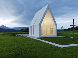 modern minimalist chapel in austria is a new take on an old concept