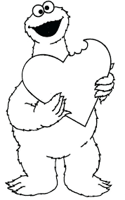 coloring pages sesame street coloring pages images free sesame